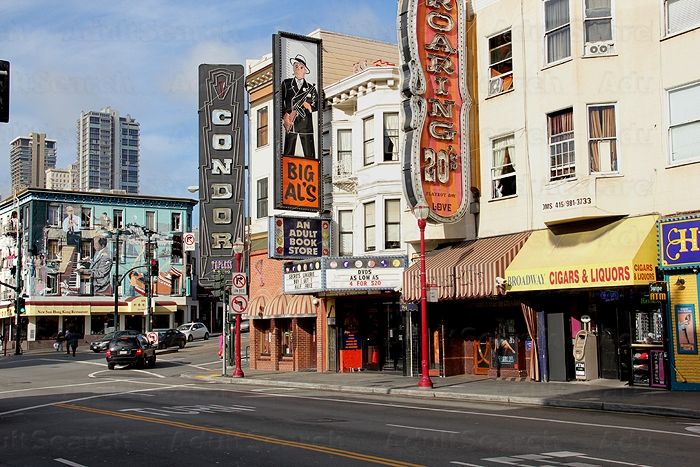San Francisco Sex Shops, Glory Holes and Sex Toy Shops