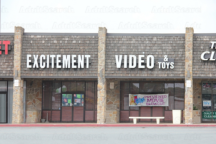 Excitement Video Adult Video Store 64