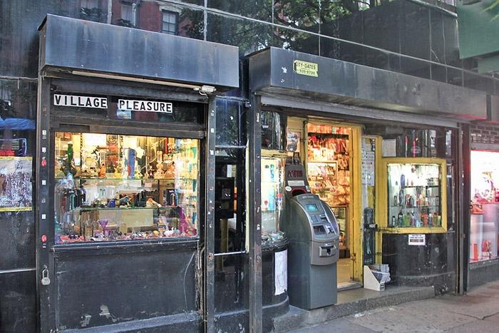 Pleasures adult video store