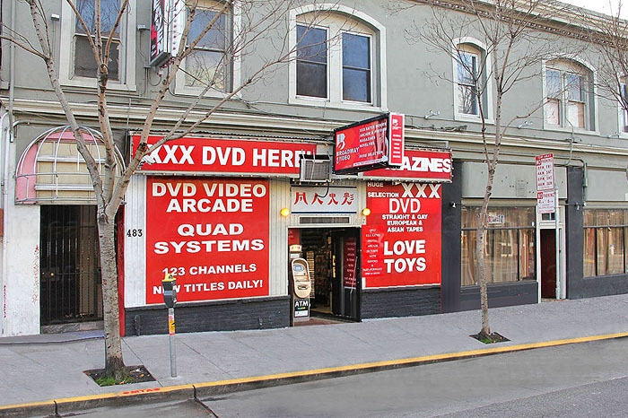 adult video arcade san francisco