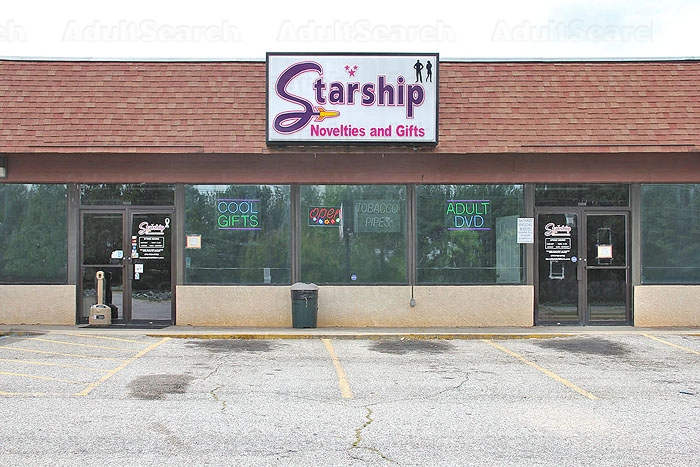 I'd love starship adult stores word