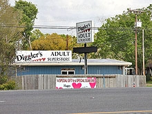 Diggler's Adult Superstore