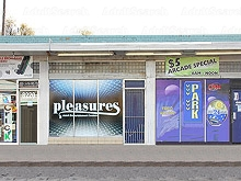 Pleasures Entertainment Center