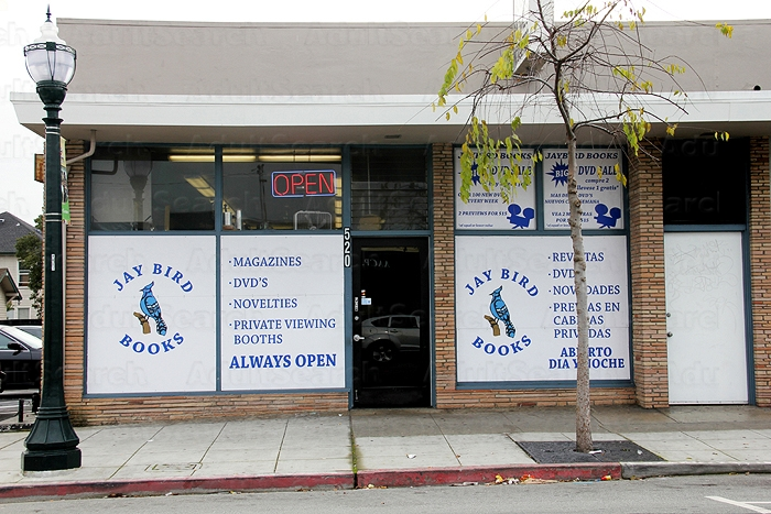 Adult book video stores california