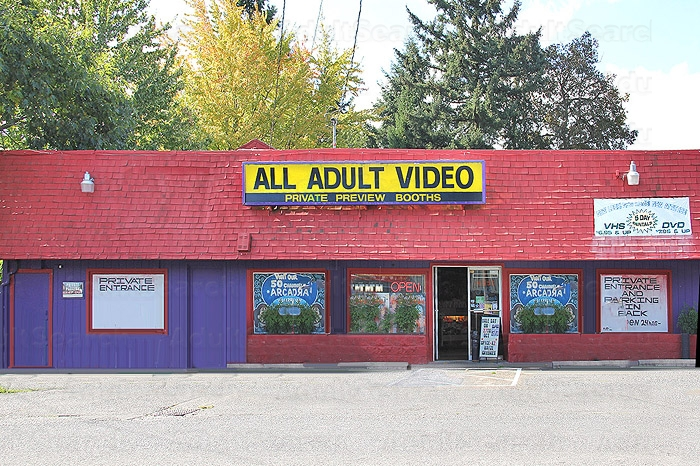 Pleasures adult video store
