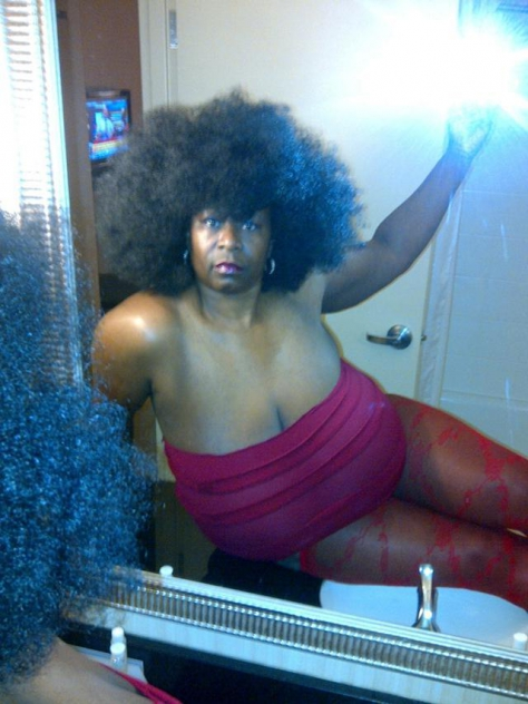 Ebony Vanessa big black tits bbw