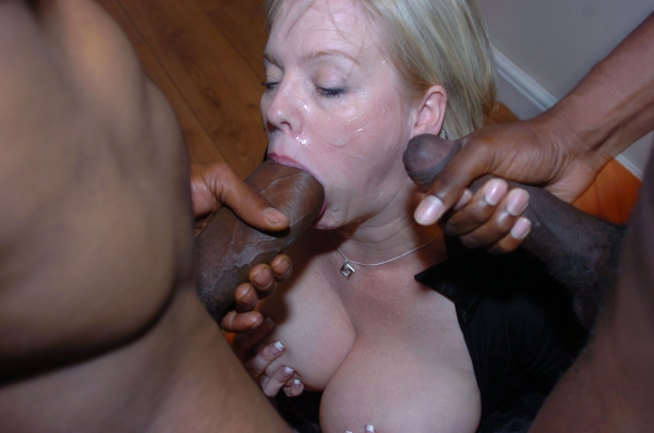 Black women who suck white cocks