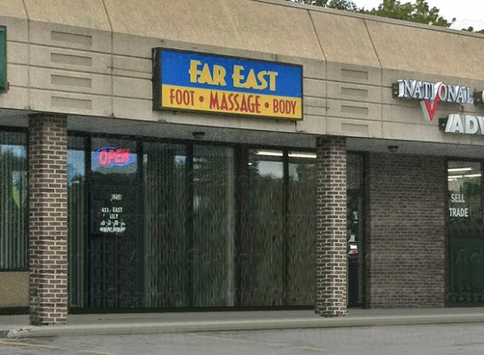 Asian massage parlor in madison wisconsin