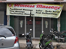 Princess massage