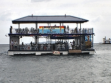 Blue Rock Floating Bar