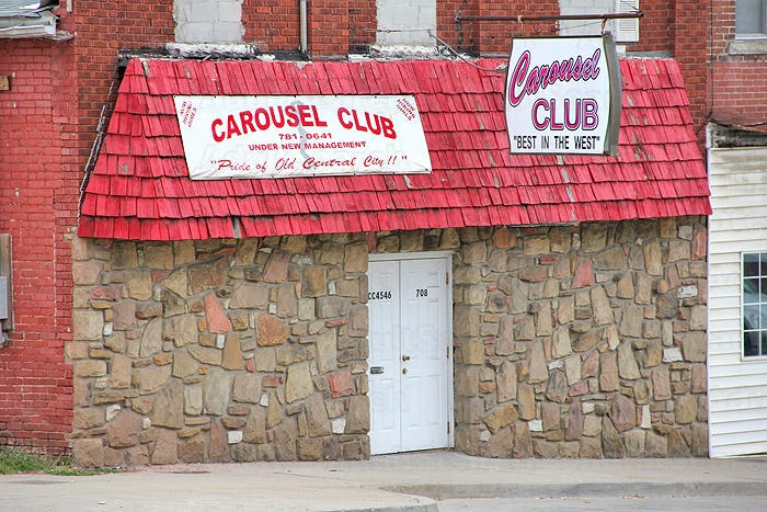 virginia west Strip in clubs