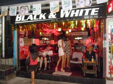 Black and White Beer Bar